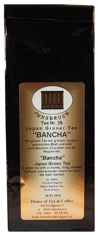 Japan Bancha - Packung