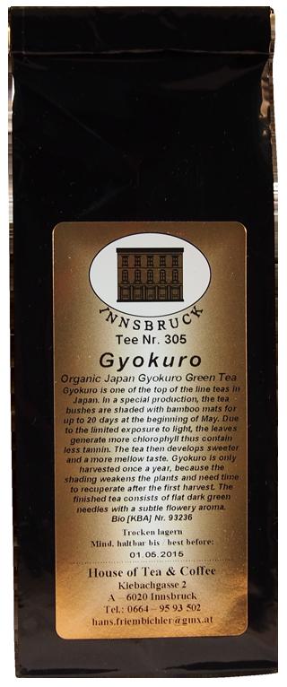 Japan Gyokuro (Tautropfen) - Packung