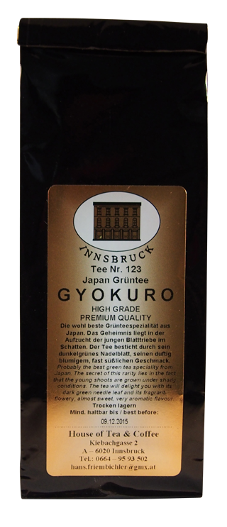 "GT Japan ""Gyokuro"" - Packung"