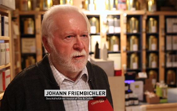 Hans Friembichler, Gründer von House of Tea & Coffee