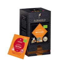 Bio Zitrone (Rooibos Tee) im Pyramidenbeutel