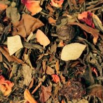 Weiße Kirsche - Weißer & Grüner Tee
