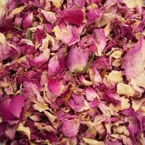 Bio Rosenblütenblätter dunkel