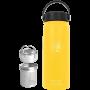 Thermoflasche gelb 600ml