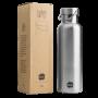 Brotzeit Thermosflasche plastikfrei, aus Edelstahl (750ml)