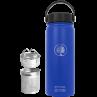 Wasserflasche blau 600ml