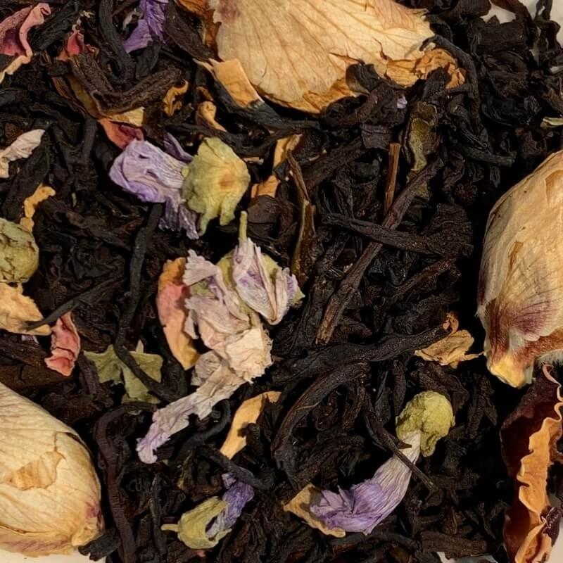Blumentempel - Schwarztee mit Kräutern und Gewürzen