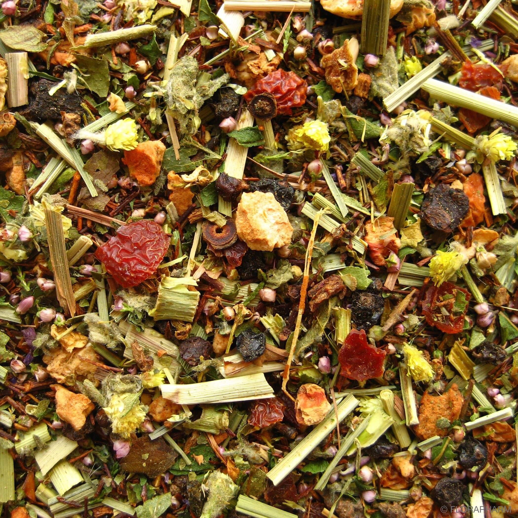 Sanddorn-Weißdorn Tee