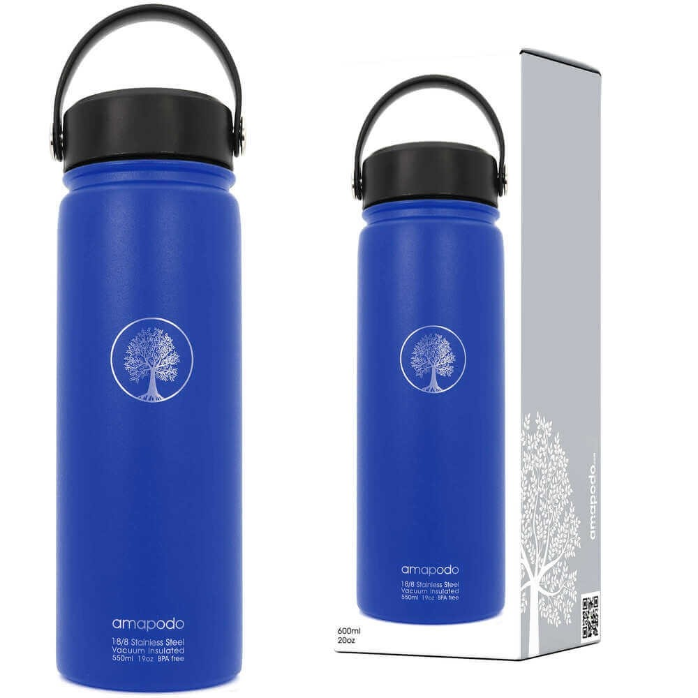 Trinkflasche blau 600ml