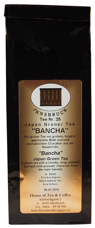 Japan Bancha - Packung