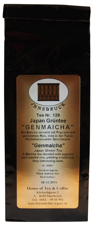 Genmaicha Japan - Packung