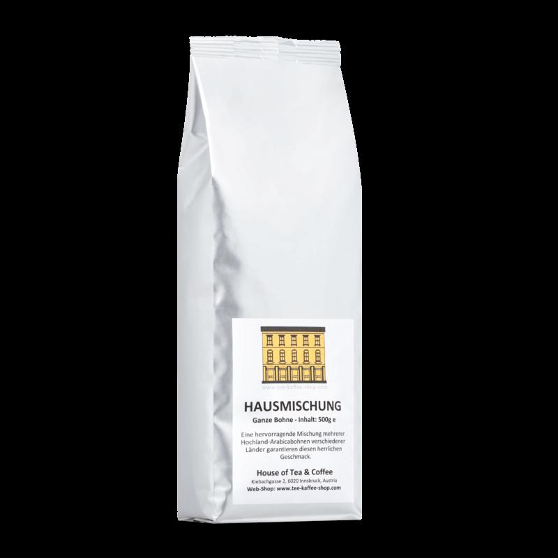 House of Tea & Coffee Pure Arabica Hausmischung (500gr)