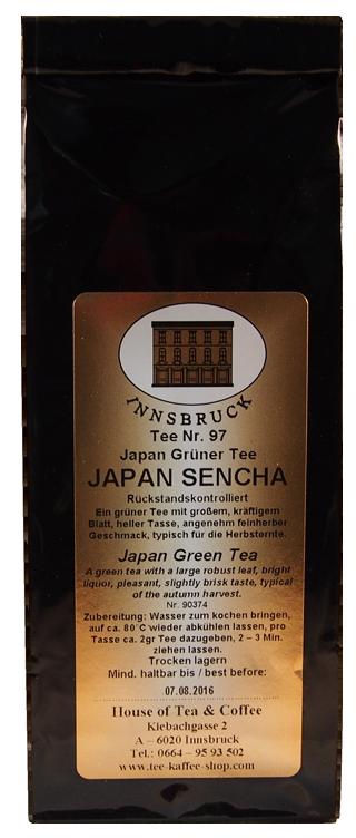 Japan Sencha Rückstandskontrolliert - Packung