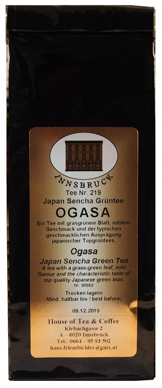 Ogasa - Japan Sencha Grüntee - Packung