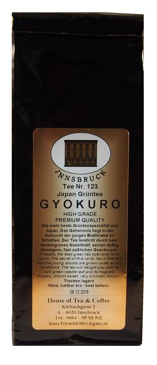 "GT Japan ""Gyokuro"" - Packung"