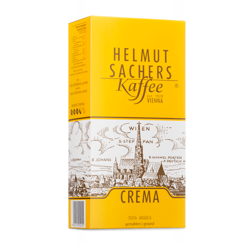 Helmut Sachers Crema gemahlen