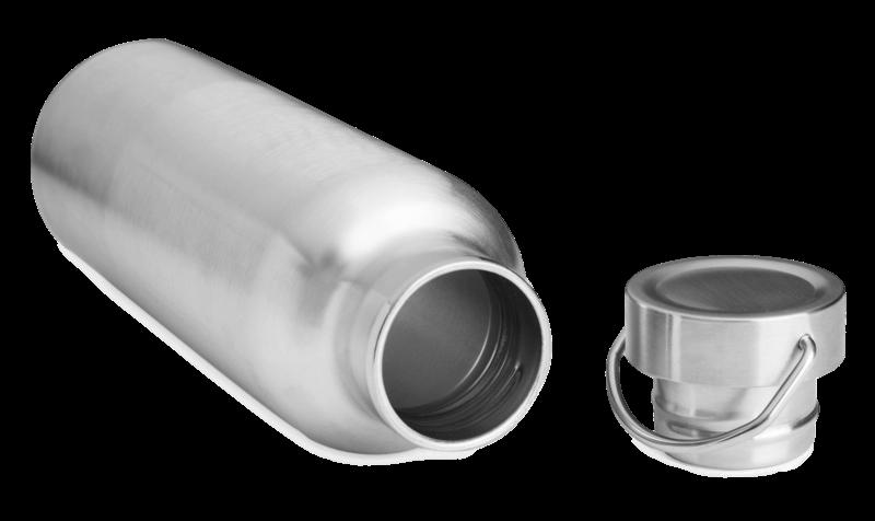 Brotzeit Edelstahl Thermosflasche plastikfrei