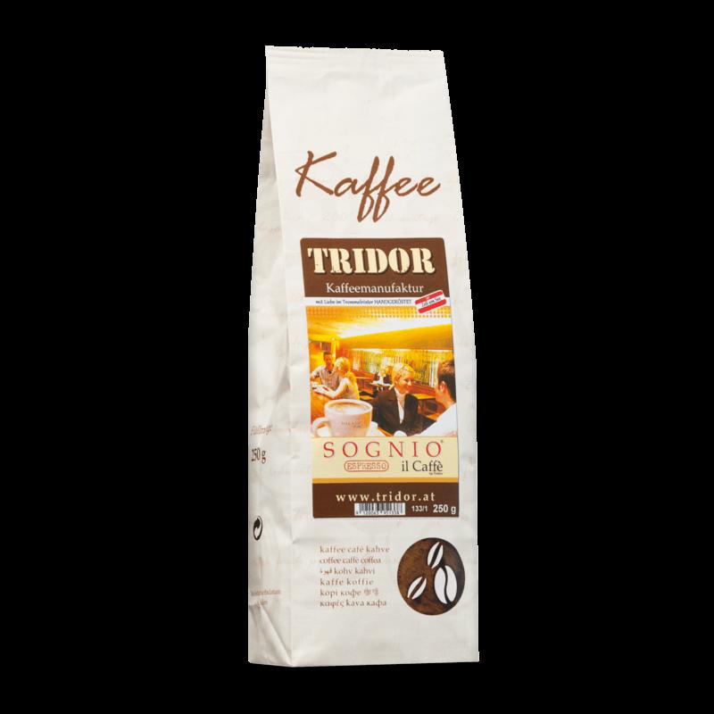 Kaffee Tridor SOGNIO Espresso