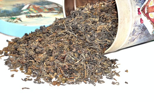 Schwarztee aus Darjeeling