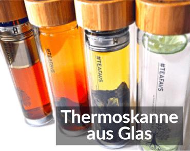 Thermoskanne aus Glas - TEAFAVS
