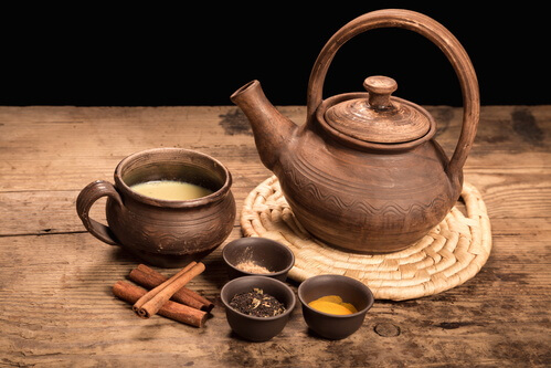 Zubereitung Ayurveda Tee
