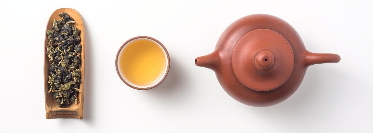 Traditionelle Zubereitung von Oolong