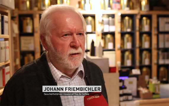Hans Friembichler, Gründer von House of Tea & Coffee