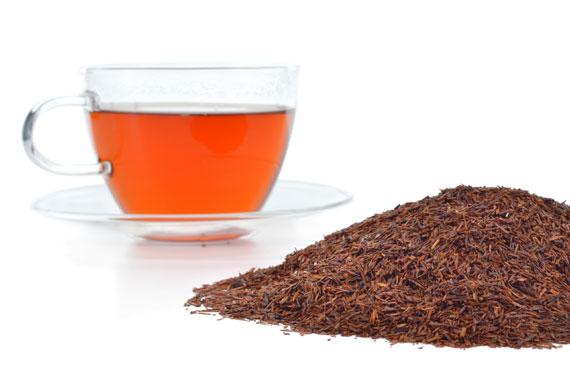 Rooibos Tee in Glastasse