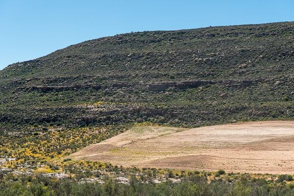 Bergregion in Südafrika