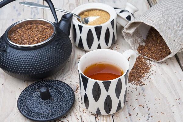 Rotbusch Tee Zubereitung